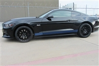 2015 Mustang Plain Rocker stripes number 2