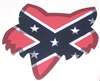 Fox Racing Rebel Flag Head Decal