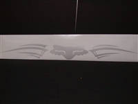 Fox Racing Tribal windshield decal