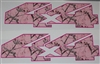 4X4 Real Tree Pink CAMO Decal