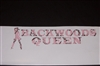 BACKWOODS QUEEN Real Tree PINK Camo Window Decal