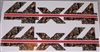 Chevy Style 4X4 #3 RED and M4 Real Tree CAMO Decal