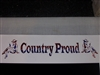 Country Proud Rebel Flag Camo Decal