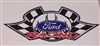 "Ford Racing 6"" x 8.5"" Full Color Decal"