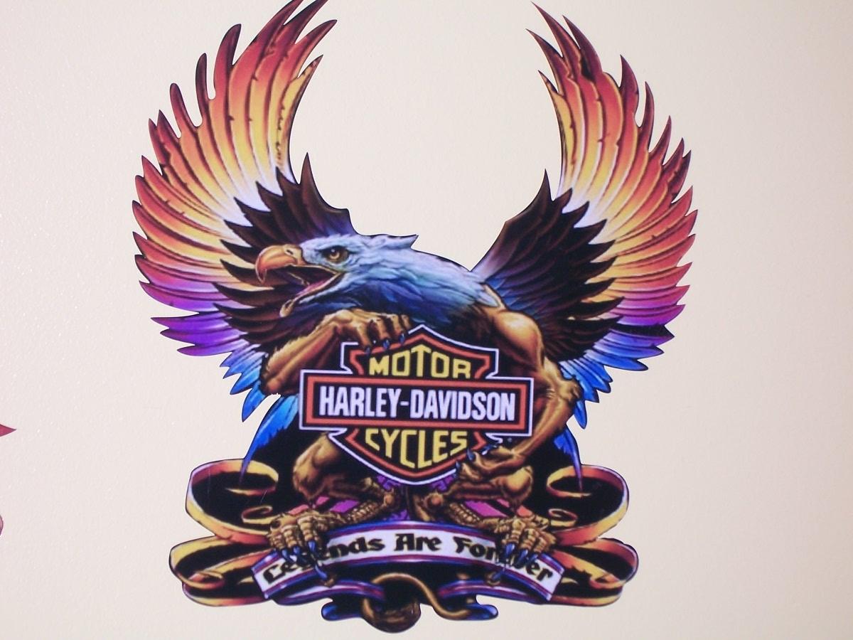 Harley Davidson Eagle Legends Decal
