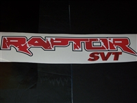 Raptor SVT Decal