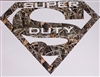 "Real tree CAMO SUPER DUTY ""S"" tailgate or window Decal"
