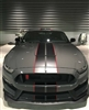 "6"" twin 2 color Rally Stripes Fit 2015 UP Mustang