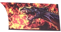 DRAGON Flame Rear Panel Decal