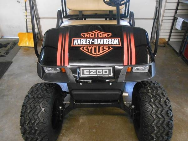 Golf Cart Logo Decal Set Fit Ezgo Club Car Yamaha And Others