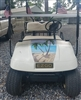 "Golf Cart FULL COLOR 19"" beach Scene Hood Stripe Graphic"