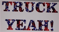 REBEL FLAG TRUCK YEAH! Decal