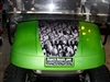 "Green EZGO w/ 19"" Sea of Skulls"