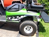 Green EZGO w/ FULL COLOR LARGE SIDE Graphics Adrenalin Rush Stripe