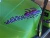 Green EZGO w/ Purple Splash Decals