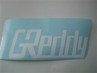 Greddy Side Decals