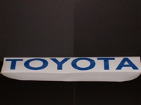 TOYOTA Windshield or Tailgate Decal