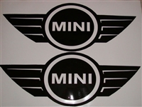 Mini Cooper Wing Decal
