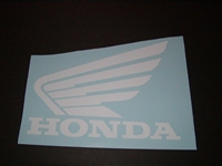 Honda Wing Tank Decal