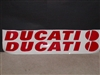 "Ducati Decal Size 6"" X 44"""