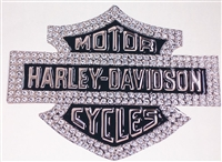 Harley Davidson Bling Decal 8x10