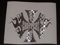 West Coast Choppers Decal #2