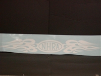 NHRA Flames Drag Racing Decal