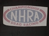 NHRA Window or Trailer Decal