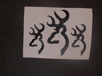 Bushnell Deer Hunting logo Decals