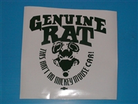 Genuine Rat Decal