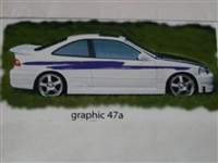 Graphics set 47a! Decal