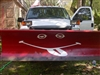 Snow Plow  Smiley Face Decal