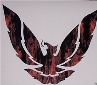 Real Fire Firebird Decal 9.5X8