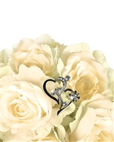 Bouquet Jewelry - Angled Double Hearts