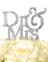Sparkling Collection Dr & Mrs Cake Topper