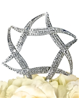 Sparkling Collection Star of David Cake Topper