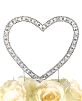 Timeless Collection Single Heart Cake Topper