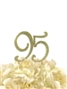 Sparkling Collection Rhinestone Cake Topper - 95 - Gold