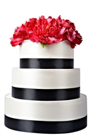 Styrofoam 3 tier Round Cake Display - 12 Inches
