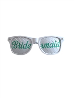 Bridesmaids (Green) Wedding Party Glasses