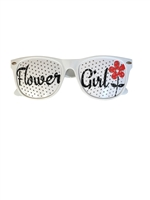 Flower Girl Wedding Party Glasses