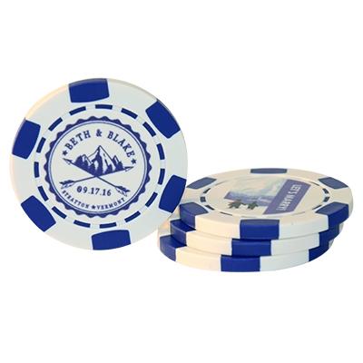 Custom Wedding Poker Chips