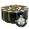 300 Bluff Canyon Poker Chip Set with Wooden Carousel