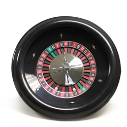 "18"" Premium Roulette Wheel with 2 Roulette Balls"
