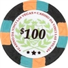 $100 Black Casino Da Vinci All Clay