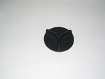 Spinner Knob, Cast Iron Door