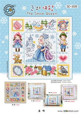 SO-3228 The Snow Queen Cross Stitch Chart