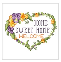 SO-FP12  Home Sweet Home Cross Stitch Chart