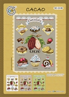 SO-G149 Cacao Cross Stitch Chart