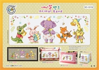 SO-G152 Animal Band Cross Stitch Chart